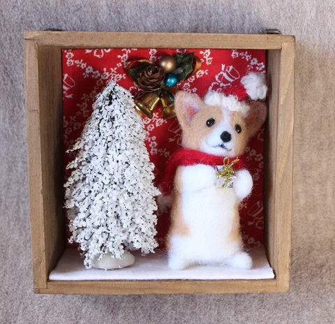 クリスマスボックス*コーギー