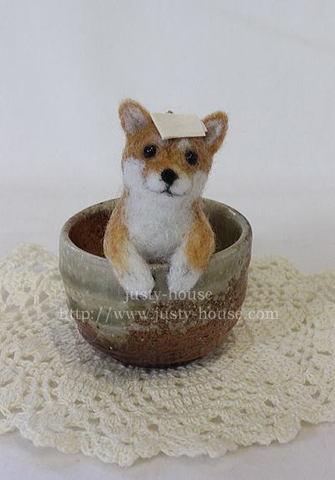 壺風呂わんこ*柴犬
