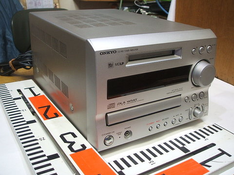ONKYO  CD/MD TUNER AMPLIFIER FR-X7