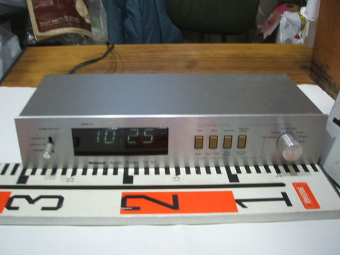 National Audio Timer TE97