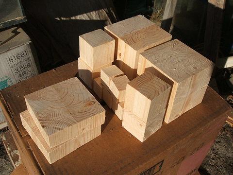 木工キューブ