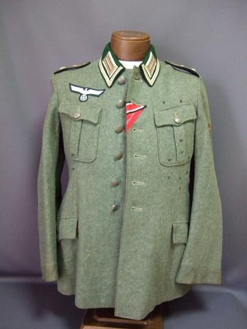 国防軍下士官兵戦闘服(ライヒスへール型)