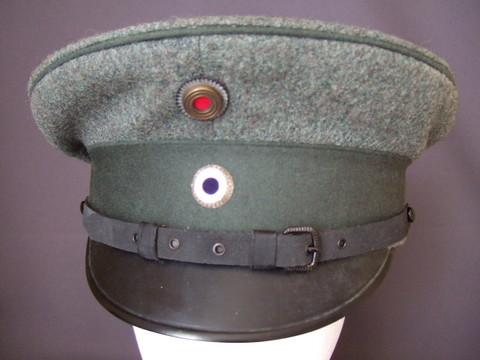 プロイセン(共通)将校用制帽M1916