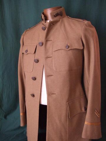 WWⅠアメリカ軍総務科将校制服上下