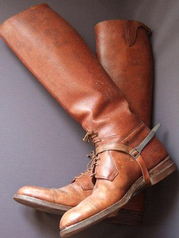 アメリカ軍将校用乗馬靴