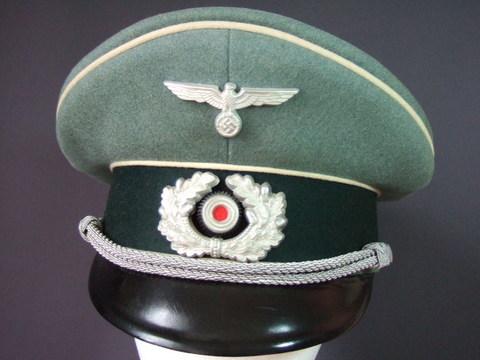 国防軍歩兵将校制帽