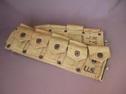 M1ガーランド弾帯(未使用)