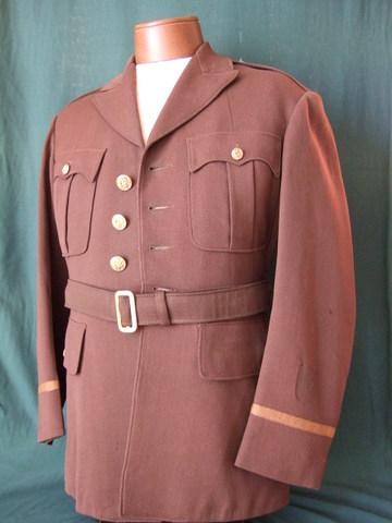 WWⅡアメリカ軍将校用制服上下