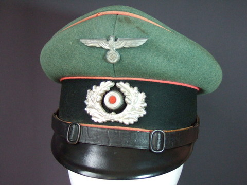 国防軍一般戦車兵制帽