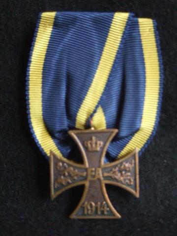 ブラウンシュバイク公国          二級戦功勲章