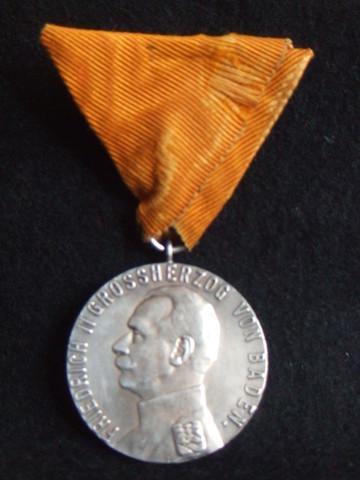 バーデン大公国           シルバーメリットメダル