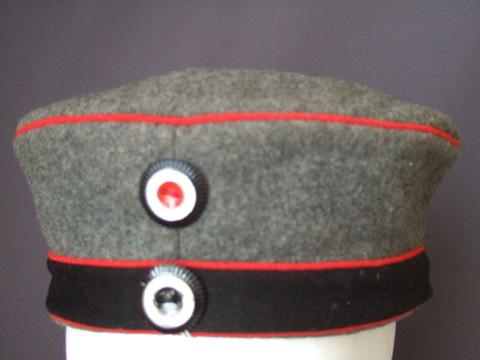 プロイセン砲兵用略帽