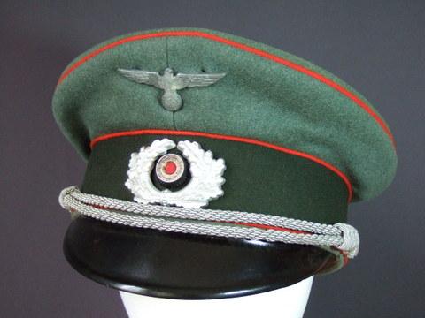 国防軍砲兵将校制帽