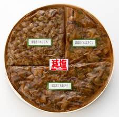 減塩志ぐれ煮3種類(蛤・あさり・しじみ)(M-9)