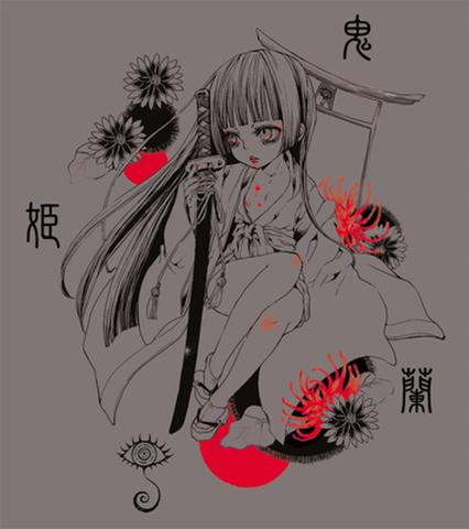 舞台『鬼姫』蘭Tシャツ