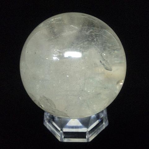 透明水晶玉68mm