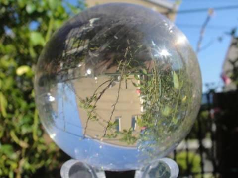 準Aクラス透明水晶玉92mm
