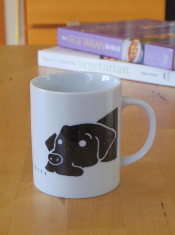 マグカップ 犬とカメ