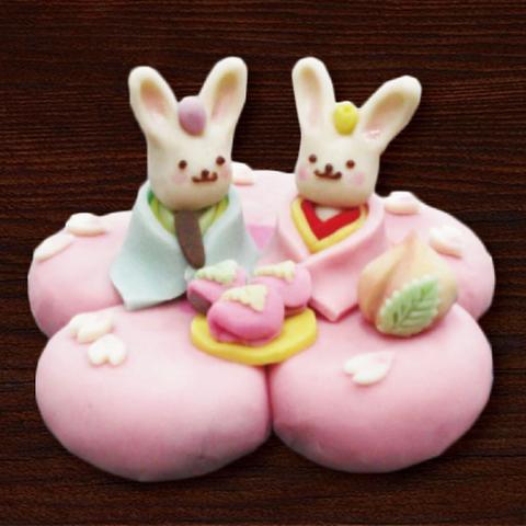 フルオーダーの創作和菓子ケーキ 直径約12cm(約5名分)