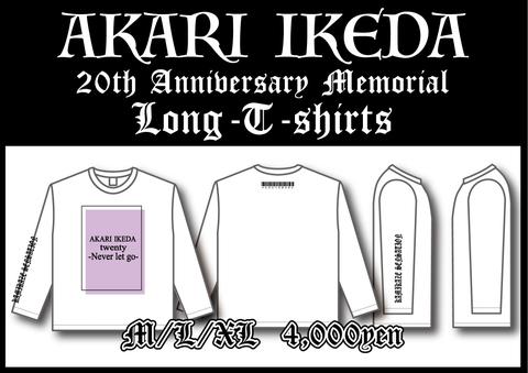 AKARI 20th Memorial Long-T-shirts