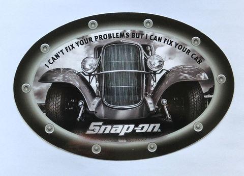 Snap-on (スナップオン) ステッカー フィックスユアカー USA純正