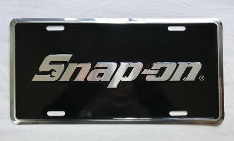 Snap-on (スナップオン) メタルライセンスプレート USA純正