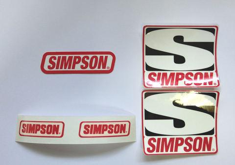 米国 SIMPSON シンプソン 純正 ステッカー NEWセット