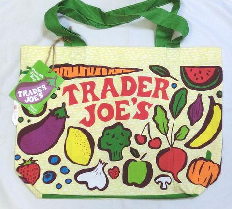 Trader Joe's (トレーダージョーズ) エコバッグ 2016 春モデル グローサリー 並行輸入品