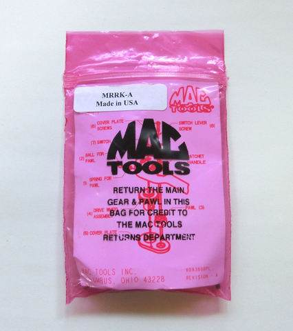 Mac tools (マックツールズ) ラチェット 修理用 リペア パーツ セット 1/4 差し込み MRRK-A 並行輸入品