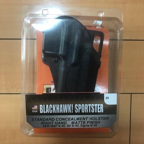 ブラックホーク(BLACKHAWK) SPORTSTER S&W M&P9 ホルスター 右利き用