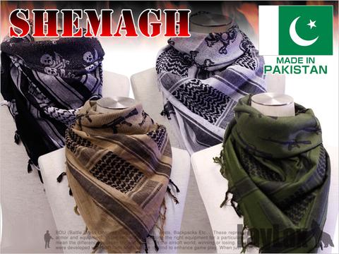 パキスタン製シュマグ アフガンストール スカーフ