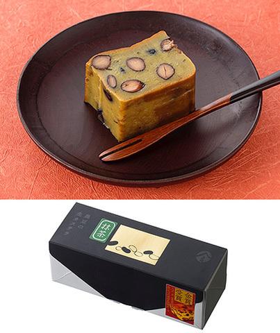 黒豆の生カステラ(抹茶)