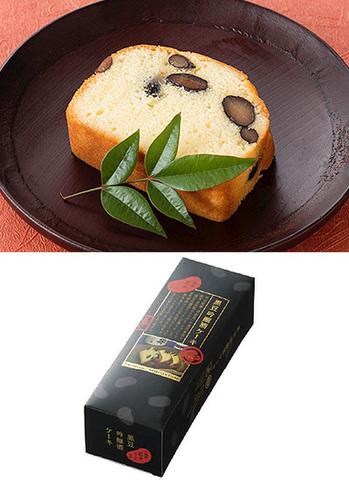 黒豆吟醸酒ケーキ