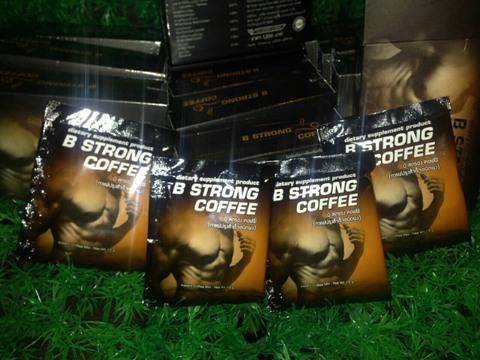 B STRONG Coffee(ビーストロングコーヒー)(旧名フロスターMコーヒー)2箱(8袋)(8回分)国際書留郵便送料