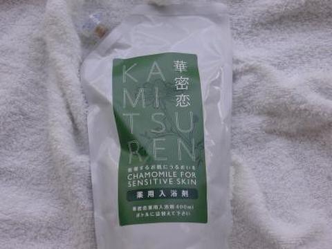 華密恋 薬用入浴剤(医薬部外品) 詰め替え用 350ml