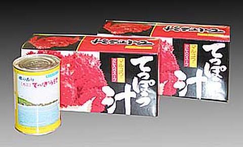 鉄砲汁(缶詰)箱入り425g×3缶