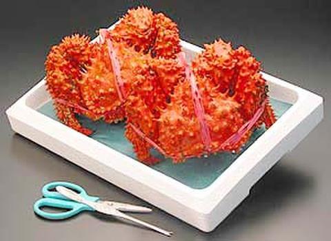 花咲蟹 2尾入れ 大中 約1.4kg