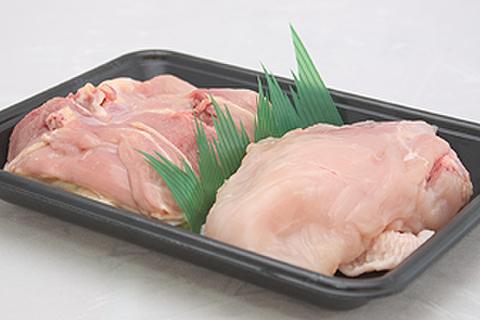 近江しゃも「ブロック」(モモ肉+ムネ肉)500g