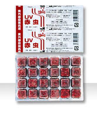 UV赤虫100g 18枚 166円/枚
