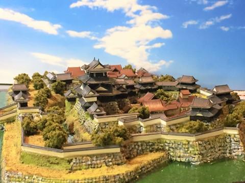 岡崎城 お城 ジオラマ 完成品