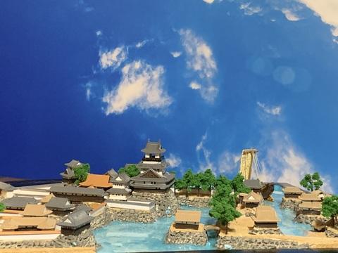 長浜城 お城 ジオラマ 完成品