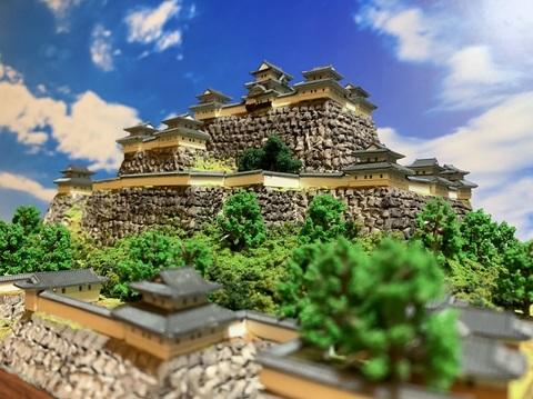 丸亀城 お城 ジオラマ 完成品