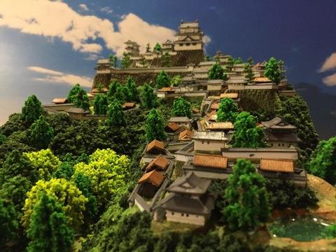 高取城 お城 ジオラマ 完成品