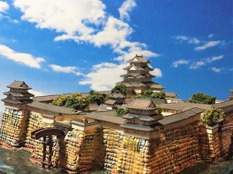 尼崎城 お城 ジオラマ 完成品
