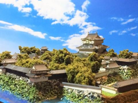 高松城 お城 ジオラマ 完成品