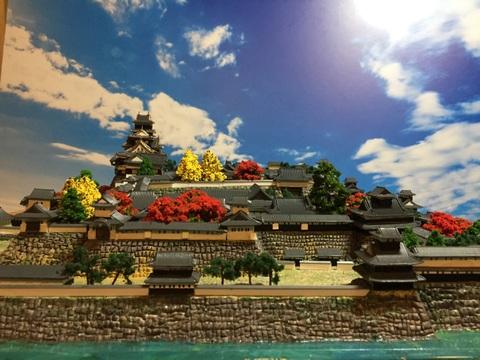 岡山城 お城 ジオラマ 完成品