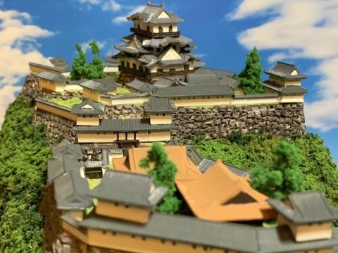 彦根城 お城 ジオラマ 完成品