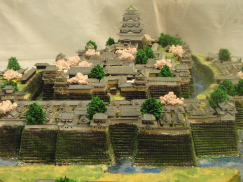 徳川大阪城本丸・二の丸 お城 ジオラマ 完成品