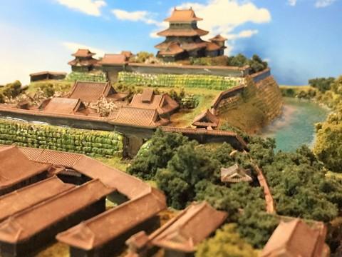 浜松城 お城 ジオラマ 完成品