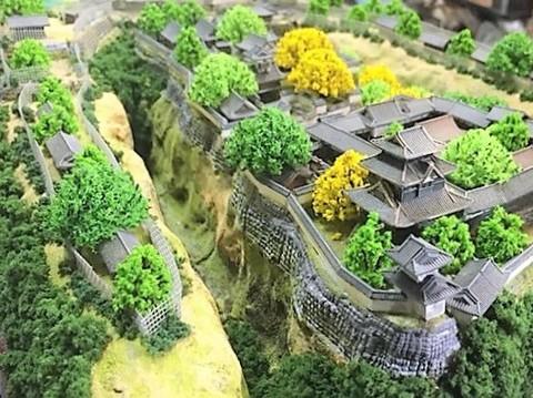 小諸城 お城 ジオラマ 完成品